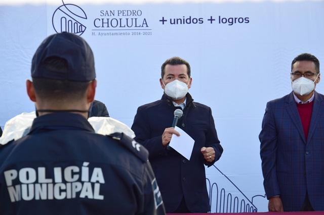 Demanda edil de San Pedro Cholula no desaparecer el Fortaseg