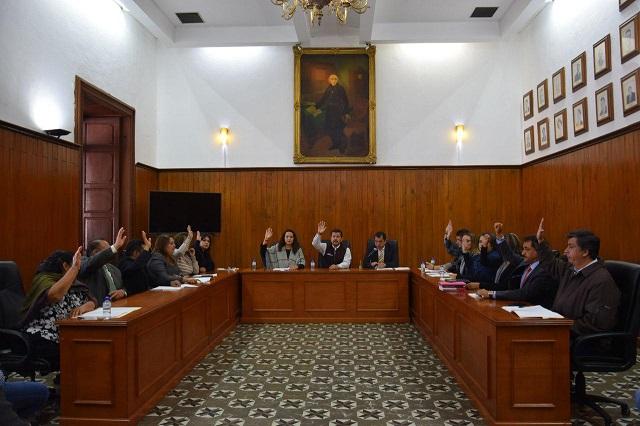 Aprueba Cabildo de San Pedro Cholula convocatoria para juntas auxiliares