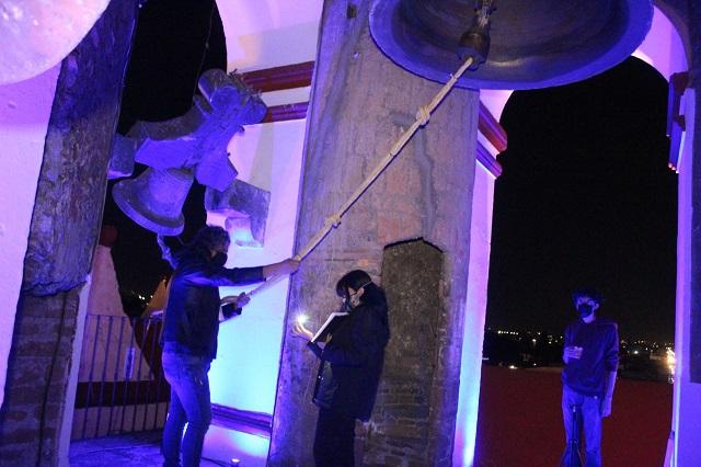 Dan concierto de campanas en San Pedro por víctimas de Covid