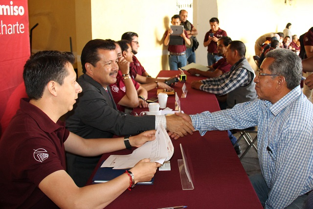 Trabajo coordinado con la sociedad da mejores resultados: Luis Alberto Arriaga