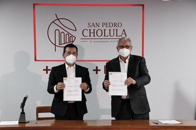 Convenio de San Pedro Cholula y SSP para prevención del delito
