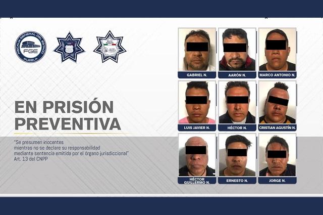 FGE y policías municipales desarticulan banda delincuencial