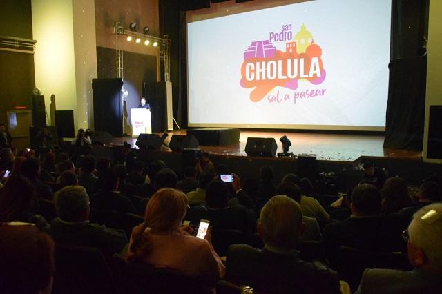Lanza gobierno de San Pedro Cholula la marca turística
