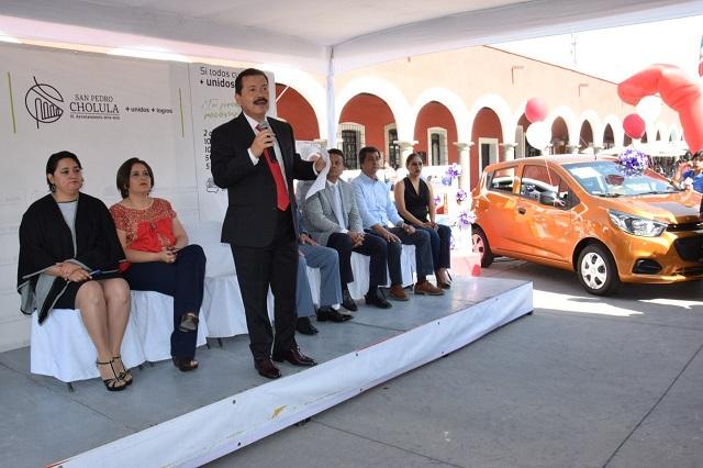 En San Pedro Cholula buena recaudación por impuesto predial