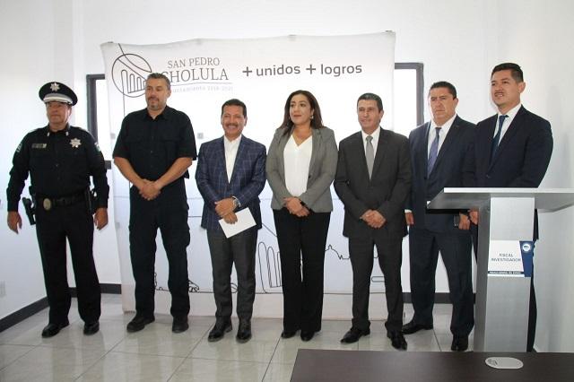 Regresa a San Pedro Cholula agencia del Ministerio Público