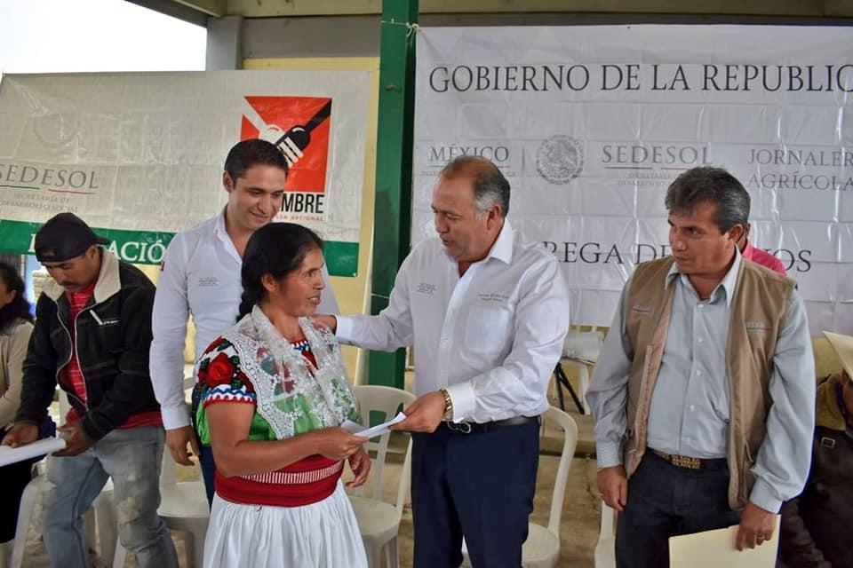 Otorga SEDESOL apoyo para llegada de jornaleros agrícolas