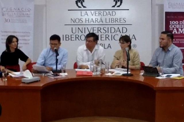 Buscan en la Ibero análisis inteligente de primeros 100 días de AMLO