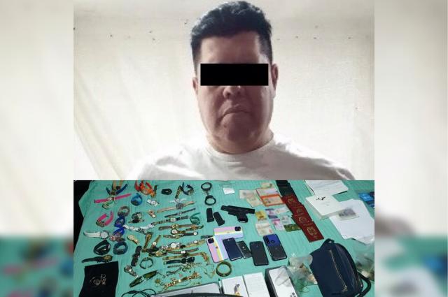 Atrapan en Prados Agua Azul al líder de la banda Unión Tepito
