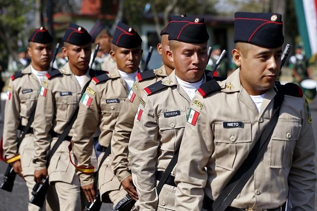 Centenar de jóvenes eligió hacer el servicio militar para liberar cartilla