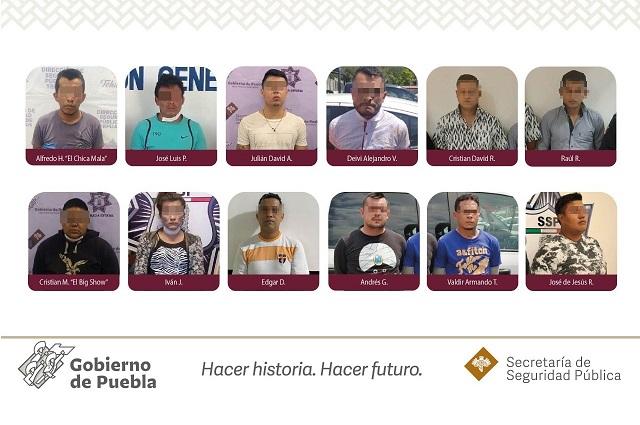 En 4 meses detienen a 64 delincuentes en Tehuacán