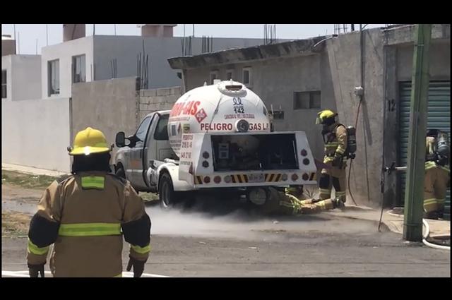 Fuga de gas moviliza a cuerpos de emergencia en Santa Rosa