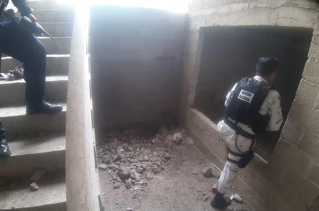 Descubren huachitúnel en San Martín Texmelucan