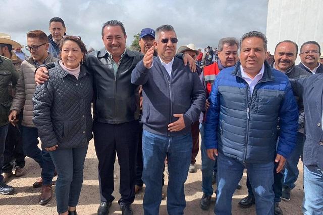 Gobierno del estado rehabilita la carretera Paredón-Tepozán