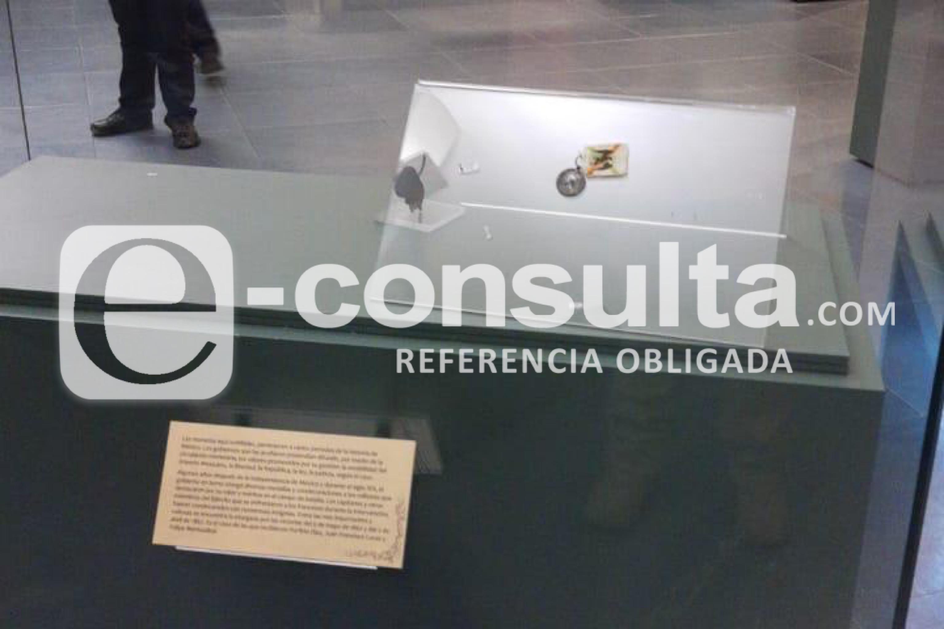 Roban de madrugada piezas históricas de museo en Puebla
