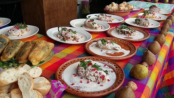En Calpan, cuna de la nuez de Castilla, organizan Feria del chile en nogada