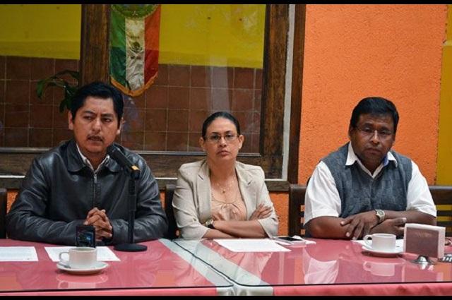 Antorcha Campesina defiende mercado temporal la Concha