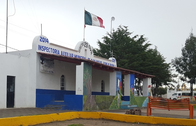 Ante delitos planean policía comunitaria en San Miguel Espejo
