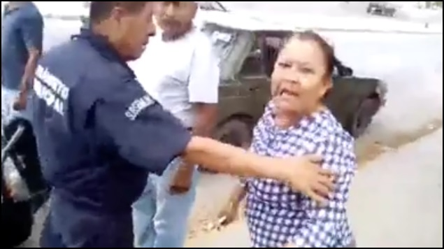 #LadyGarrote le pone golpiza a un hombre tras una discusión