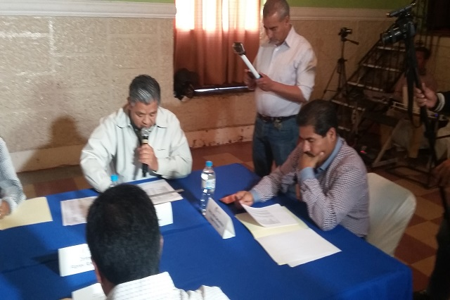Cabildo aprueba estado financiero de marzo en Tecamachalco
