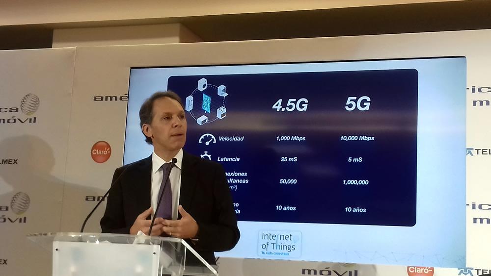 Llega a México tecnología 4.5G y se alista para Internet de las Cosas