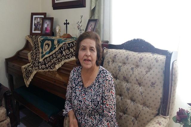 Emma García, pasión por la docencia y la crónica de Puebla
