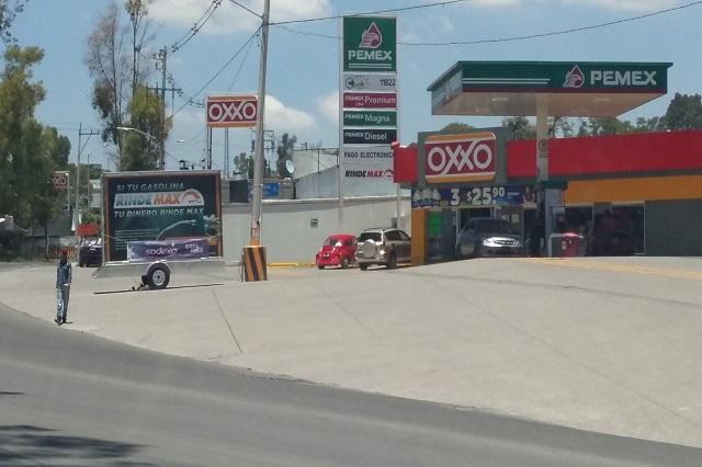 Empresario ligado al Toñín tiene 4 gasolineras en Puebla capital