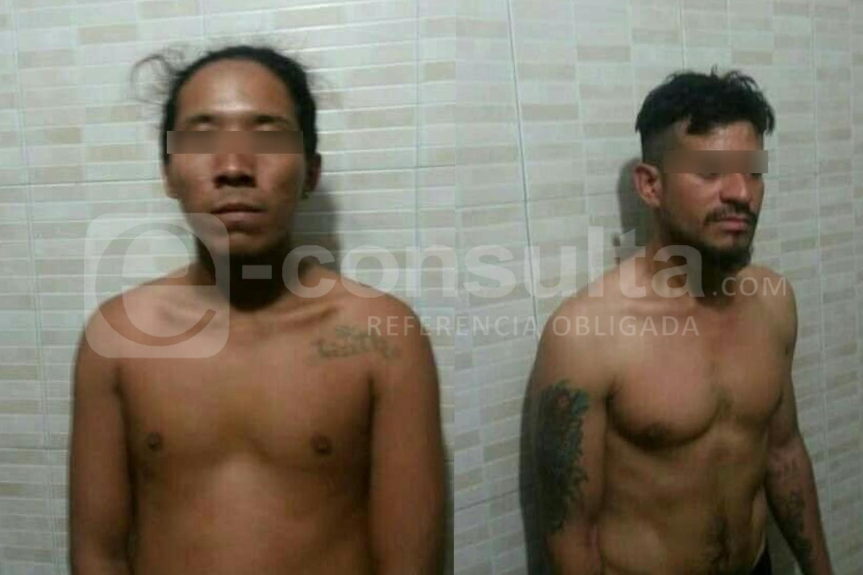 Detienen a dos hondureños por robos a Oxxos en Tecamachalco