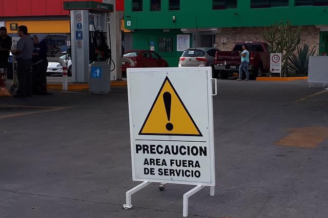 Alcanza desabasto a gasolineras de Puebla, Texmelucan e Izúcar