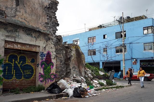 En ruinas, nueva zona propuesta para el transporte en Puebla
