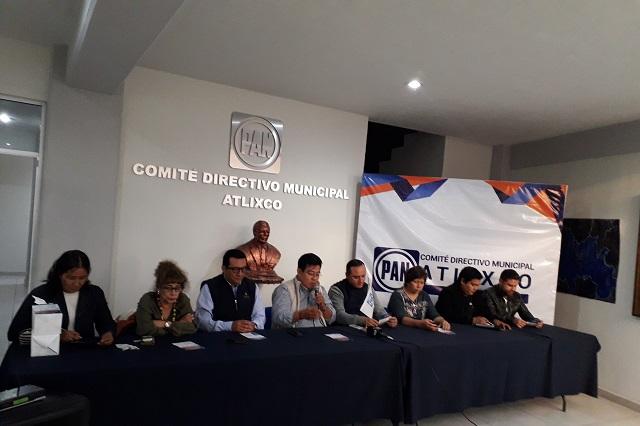 PAN recibe a aspirantes para presidencia municipal de Atlixco