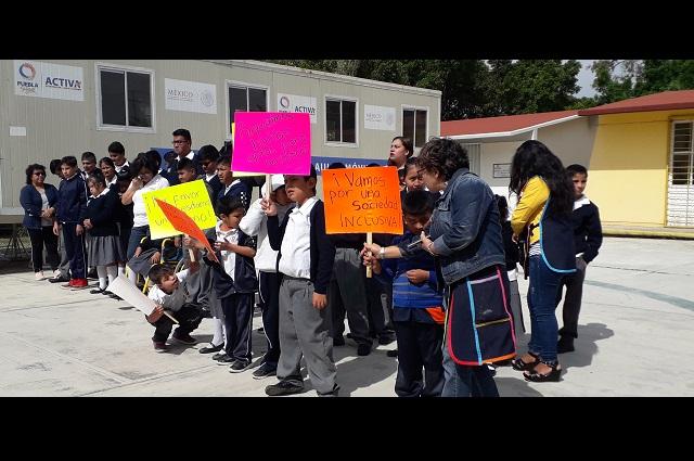Piden certeza jurídica en escuela de educación especial en Atlixco