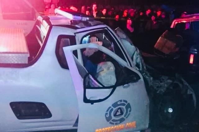 Muere delegado de PC estatal tras choque en Ciudad Serdán
