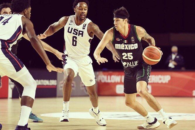 México CAE 94-78 ante Estados Unidos en clasificatoria FIBA