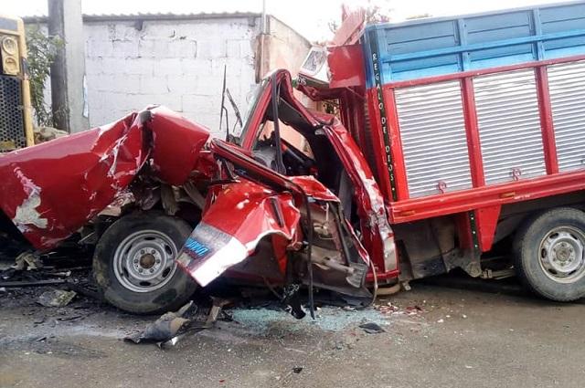 Confirman 7 muertos en accidente vial en Xiutetelco