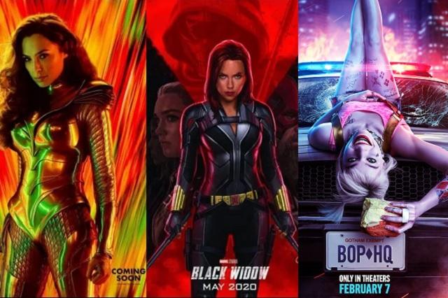 En 2020 la pantalla grande estará encabezada por superheroínas
