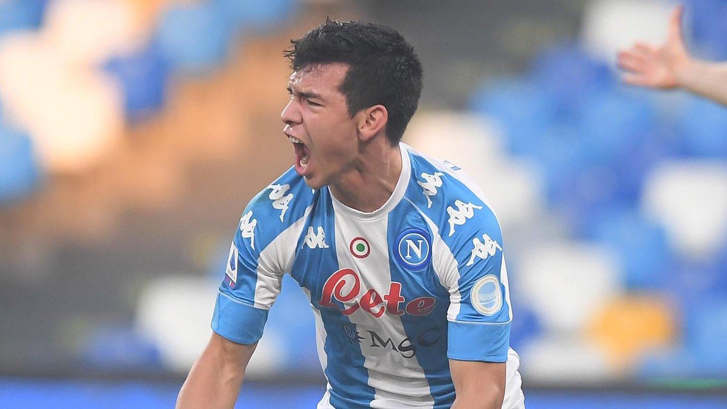 Chucky Lozano mete en 9 segundos el gol más rápido en la historia del Napoli