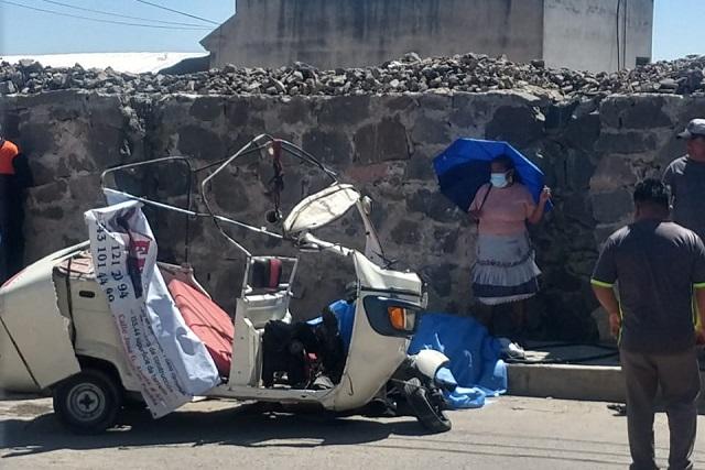 Accidente de mototaxi deja 3 personas muertas en la Resurrección