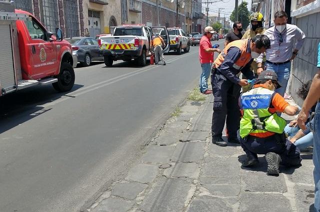 Se incendia negocio en la colonia El Carmen, en Puebla