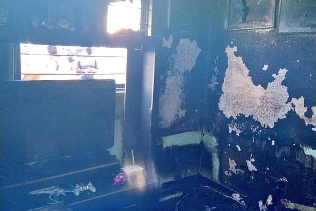 Se incendia departamento en Villa Frontera; no hay víctimas