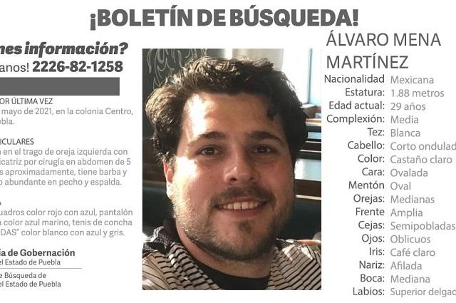 Localizan al abogado que había desaparecido en Puebla