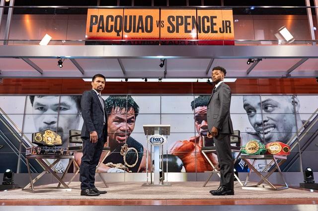Regreso de Pacquiao será ante el invicto Errol Spence Jr.