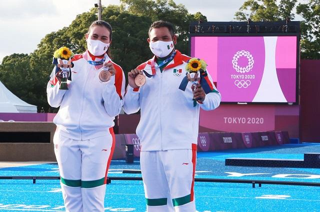 ¡La primera es de bronce! México, al podio en Tiro con arco