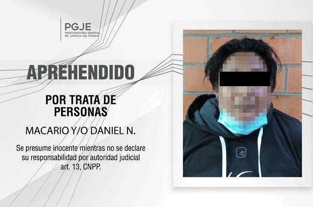 Detienen a lenón que captó a víctima en Puebla en 2011