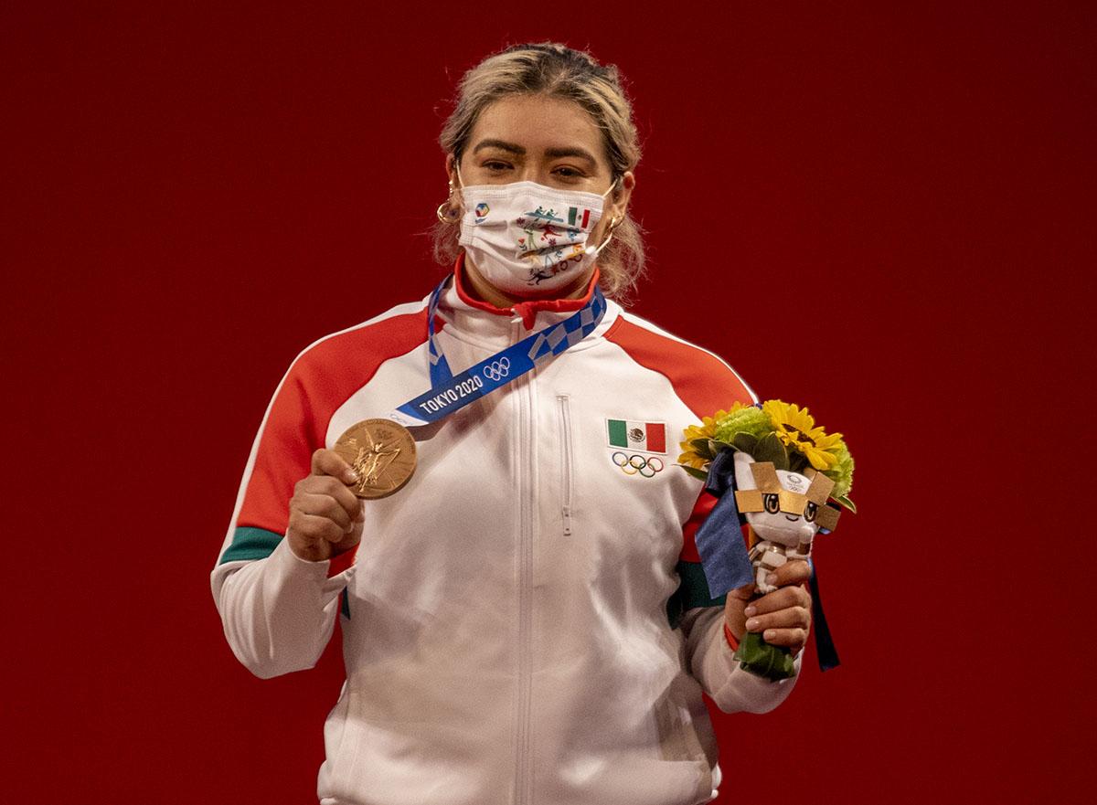 Aremi Fuentes consigue la tercera medalla para México en Tokio