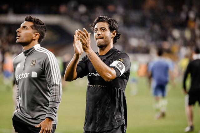 Carlos Vela reaparece con el LAFC en victoria de 3-0 ante Seattle