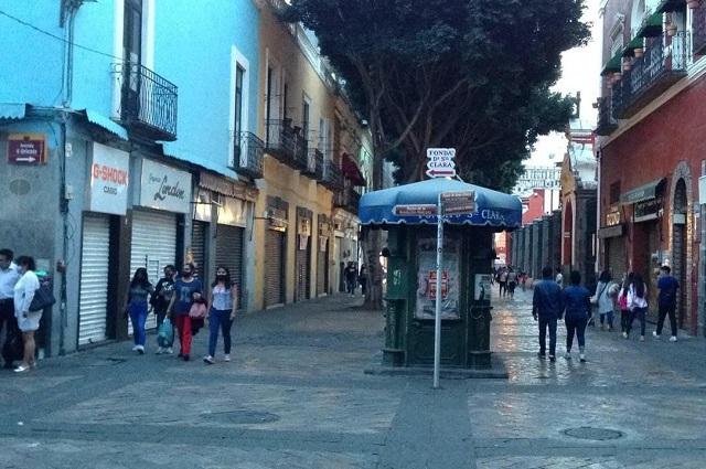Libre de ambulantes la 5 de Mayo, señala Ayuntamiento de Puebla