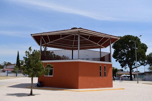 Obras por 9.2 mdp entregan en Santa María Xonacatepec