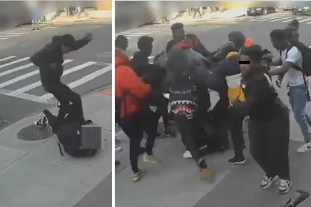 Entre 20 hombres propinan brutal golpiza a niña para robar su celular y tenis