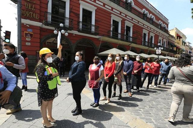 Registran en Puebla capital evacuación de 2.15 minutos