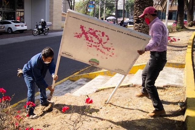 Ayuntamiento de Puebla invita a custodiar áreas verdes